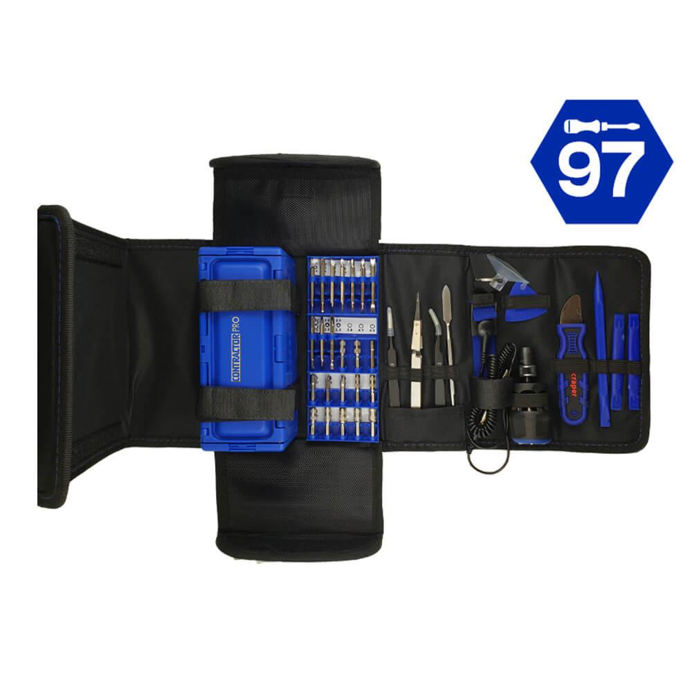 97 Pc. Precision Tool Set with QL3 Driver