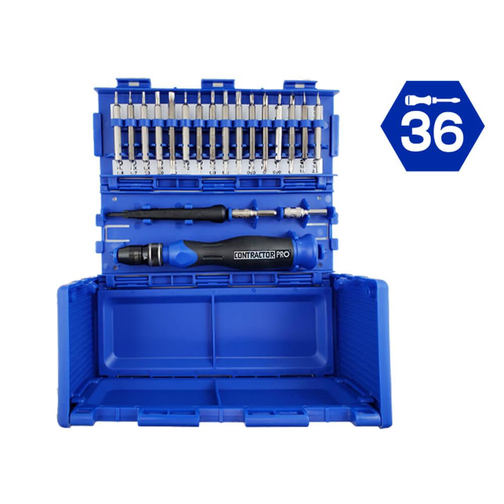 36 Pc Precision Tools Set with QL3 Driver